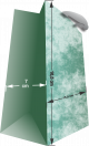 Bolsas de Papel Tipo Boutique (CH) Personalizadas,Mínimo 50 Unidades